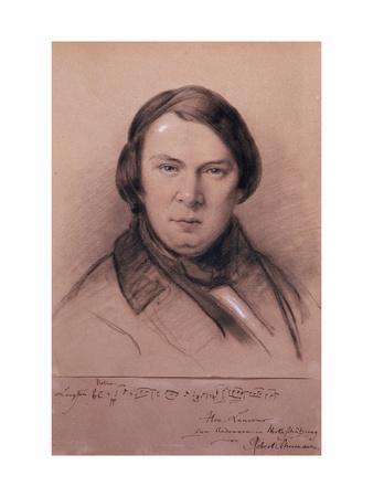 Robert Schumann, German Composer, Mid-19th Century