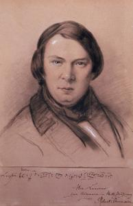 Robert Schumann, German Composer, Mid-19th Century by Jean Joseph Bonaventure Laurens