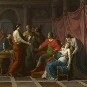 Virgil Reading the Aeneid to Augustus and Octavia, 1787 by Jean-Joseph Taillasson