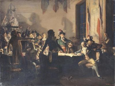 The Night of the 8th and 9th Thermidor, 27th to 28th July 1794