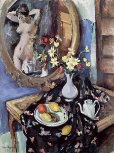 Still Life with a Mirror, 1912 by Jean Joveneau