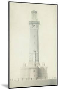 Projet de phare : élévation by Jean Juste Gustave Lisch