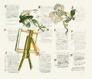 Le Peintre et le Cobra by Jean Le Gac