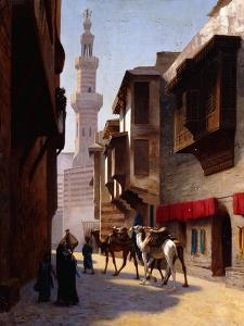 A Street in Cairo by Jean Leon Gerome