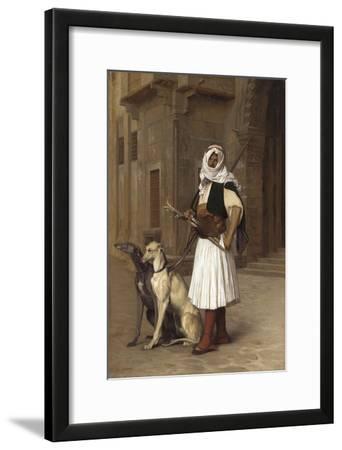 Anaute Avec Deux Chiens Whippets, 1867