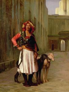 Arnaut of Cairo, 1871 by Jean Leon Gerome