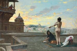 Bethsabee, 1889 by Jean Leon Gerome