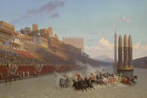 Chariot Race, 1876 by Jean Leon Gerome