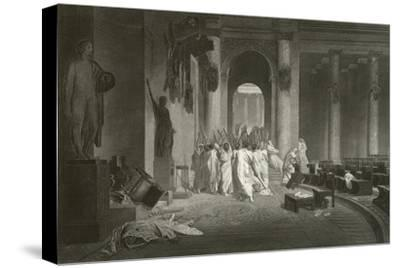 The Death of Julius Caesar © 1867 by Jean-Léon Gérôme Reprint