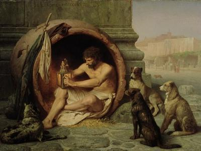 Diogenes, 1860