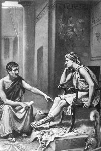Aristotle (384-322 BC) by Jean Leon Gerome Ferris