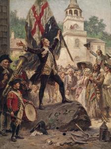 Liberty's Pulpit, 1775 by Jean Leon Gerome Ferris