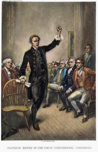 Patrick Henry (1736-1799) by Jean Leon Gerome Ferris