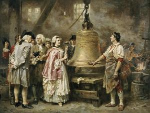 The Bell's First Note by Jean Leon Gerome Ferris