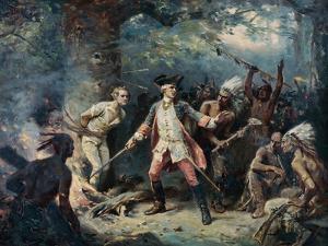The Rescue of Major Israel Putnam by Jean Leon Gerome Ferris