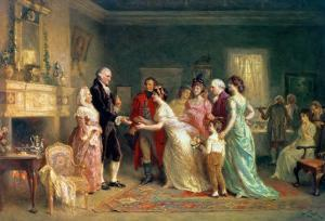 Washington's Birthday, 1798 by Jean Leon Gerome Ferris