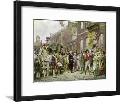 Washington's Inauguration at Philadelphia in 1793