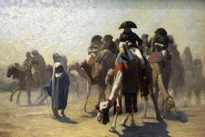 General Bonaparte with His Military Staff in Egypt, 1863 by Jean-Leon Gerome