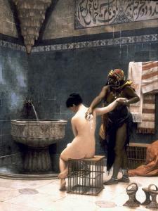 Gerome: The Bath, 1880 by Jean Leon Gerome