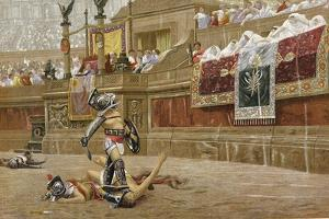 Gladiators in the Roman Arena by Jean-Leon Gerome