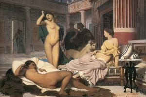 Greek Interior' (Sketc), 1848 by Jean-Leon Gerome
