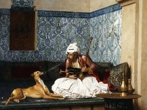 Just a Bit of Fun by Jean Leon Gerome