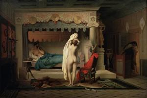 King Candaules, after 1859 by Jean-Leon Gerome