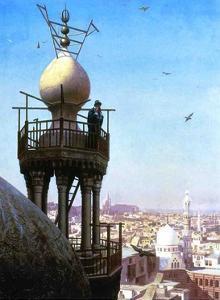 Muezzin Calling, 1878 by Jean Leon Gerome