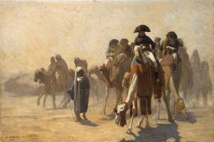 Napoleon in Egypt, 1863 by Jean-Leon Gerome