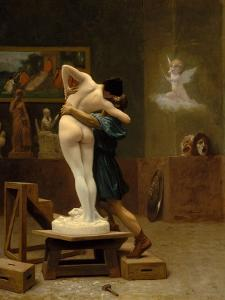 Pygmalion and Galatea, c.1890 by Jean Leon Gerome