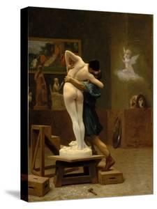 Pygmalion and Galatea, c.1890 by Jean Leon Gerome