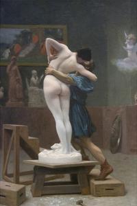 Pygmalion and Galatea by Jean Leon Gerome
