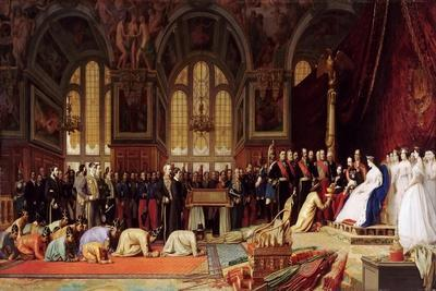 Reception of the Ambassadors of Siam by Napoleon III at the Palace of Fontainebleau, June 27, 1861
