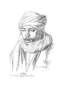 Study of an Egyptian Man, 1895 by Jean-Leon Gerome