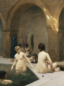 The Bathers by Jean Leon Gerome