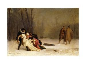 The Duel after the Ball by Jean Leon Gerome