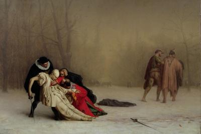 The Duel after the Masquerade, 1857-59