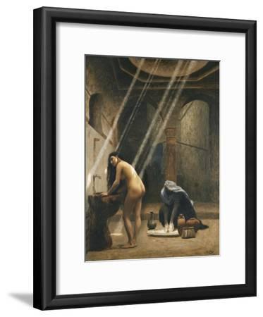 The Moorish Bath (Woman in a Turkish Bath); Un Bain Maure (Femme Turque Au Bain), C.1889