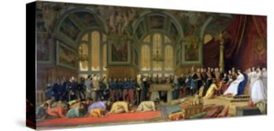 The Reception of Siamese Ambassadors by Emperor Napoleon III at the Palace of Fontainebleau