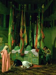 The Shrine of Imam Hussein by Jean Leon Gerome