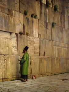 The Wailing Wall, 1880 by Jean Leon Gerome