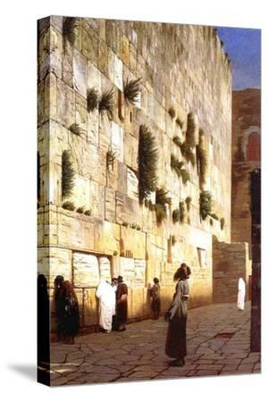 The Wailing Wall, Jerusalem, 1869