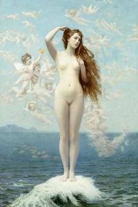 Venus Rising (The Star), C.1890 by Jean Leon Gerome