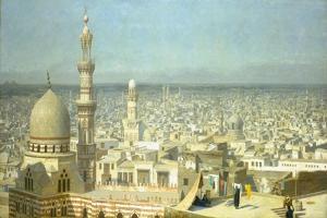 View of Cairo by Jean-Léon Gérome