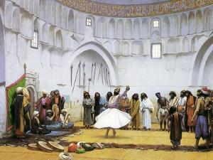 Whirling Dervishes, c.1895 by Jean Leon Gerome