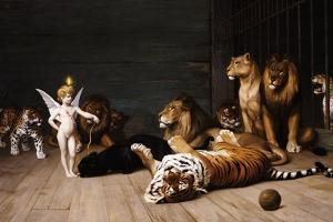 Whoever You Are, Here Is Your Master (Love, the Conqueror) by Jean Leon Gerome