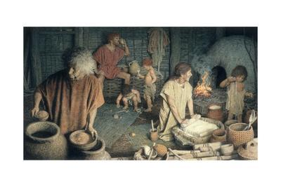 Three Generations in an Ancient Bulgarian One Room Home Ca. 5,000 B.C