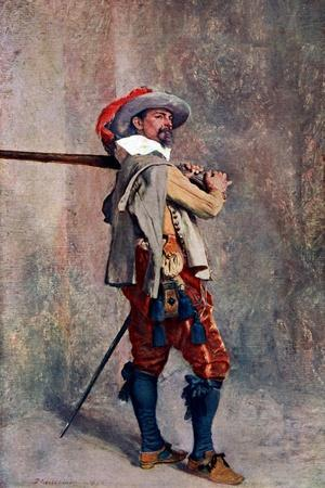 A Musketeer, C1600-1650
