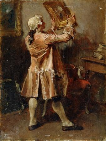 A Painting Lover, 19th Century
