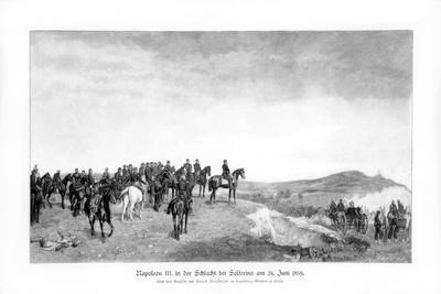 Napoleon III at the Battle of Solferino, 1900